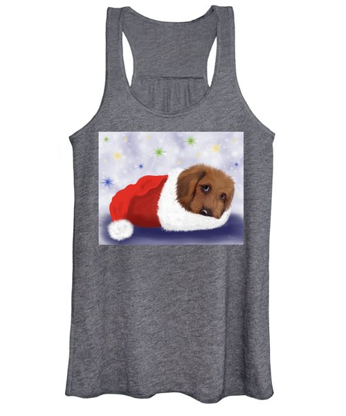 Snuggle Puppy Women's Tank Top