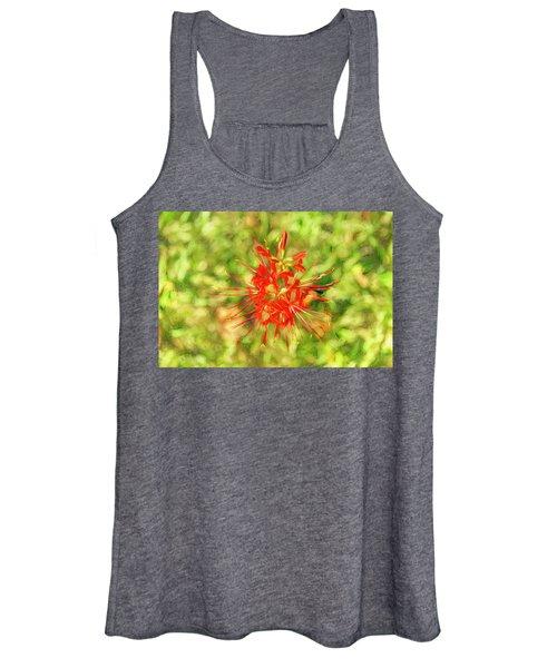 Spider Lily Pop Women's Tank Top