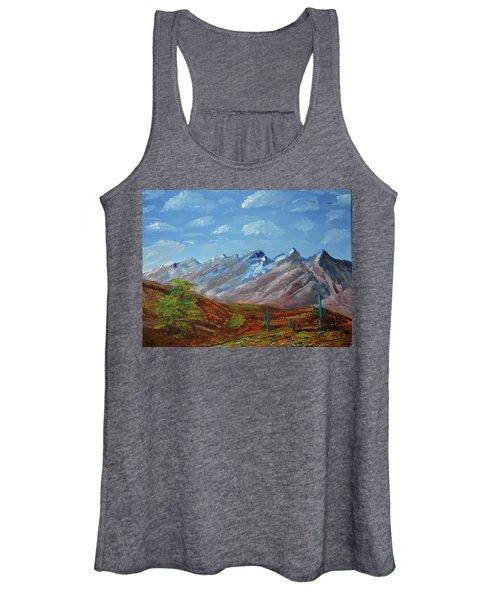 Spring Comes To Southern Arizona Women's Tank Top