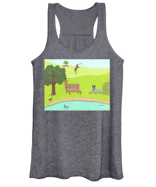 Spring Is In The Air Women's Tank Top