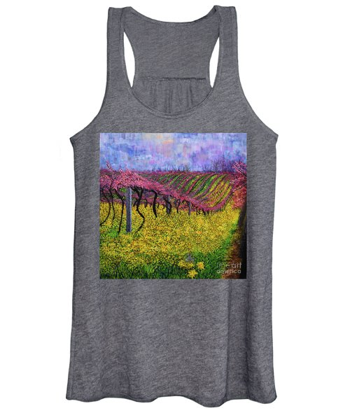 Spring Vineyard Women's Tank Top