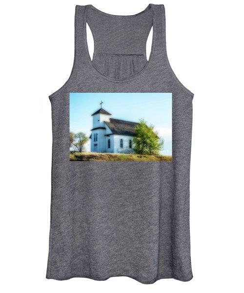 St. Agnes. Church Women's Tank Top