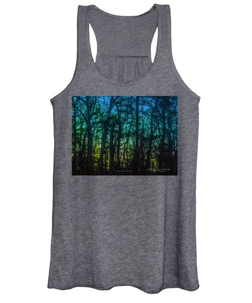 Stained Glass Dawn Women's Tank Top