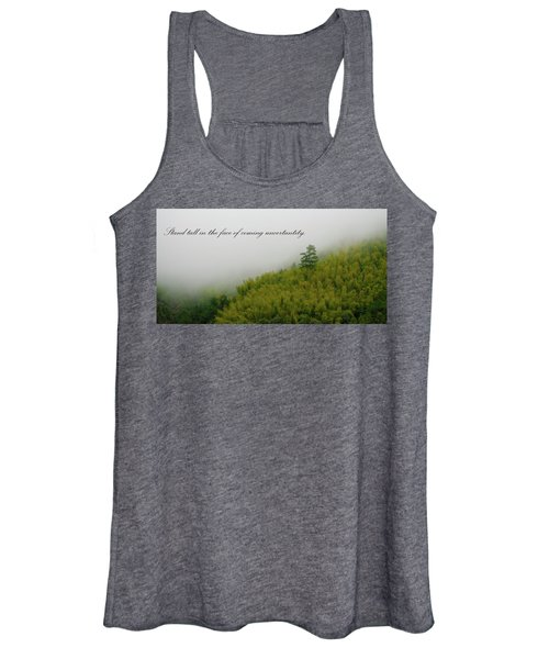 Stand Tall 2x1 Women's Tank Top