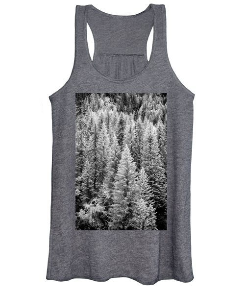 Standing Tall In The French Alps Women's Tank Top