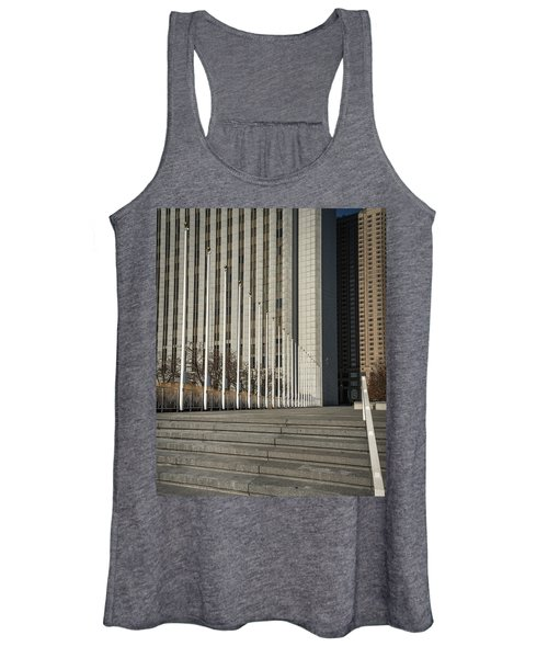 Steps And Poles Women's Tank Top
