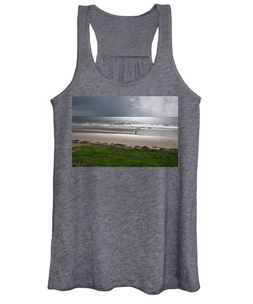 Storm Brewing Over The Sea Women's Tank Top