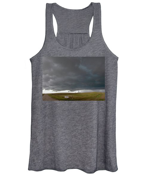 Storm Chasin In Nader Alley 016 Women's Tank Top