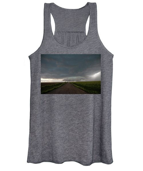 Storm Chasin In Nader Alley 025 Women's Tank Top