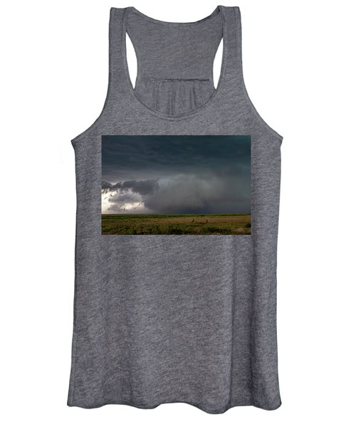Storm Chasin In Nader Alley 030 Women's Tank Top