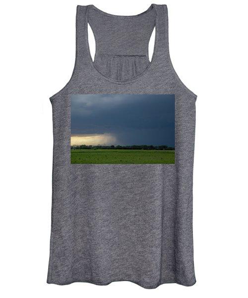 Storm Chasing West South Central Nebraska 002 Women's Tank Top