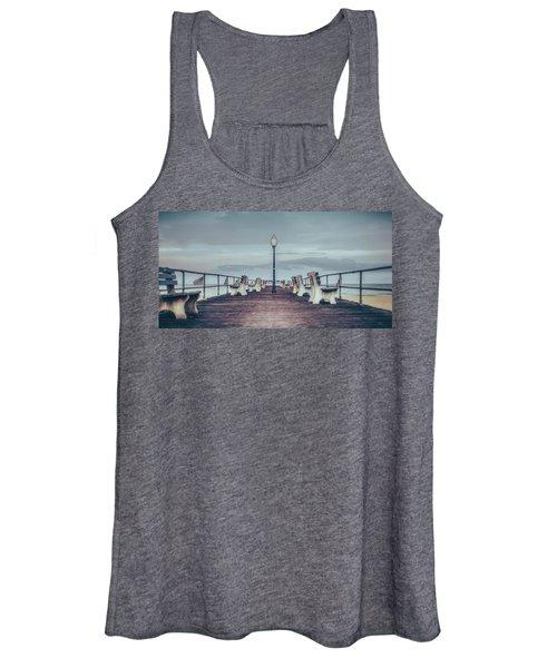 Stormy Boardwalk Women's Tank Top