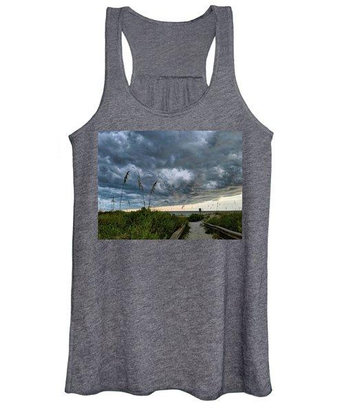 Stormy Sunset Women's Tank Top