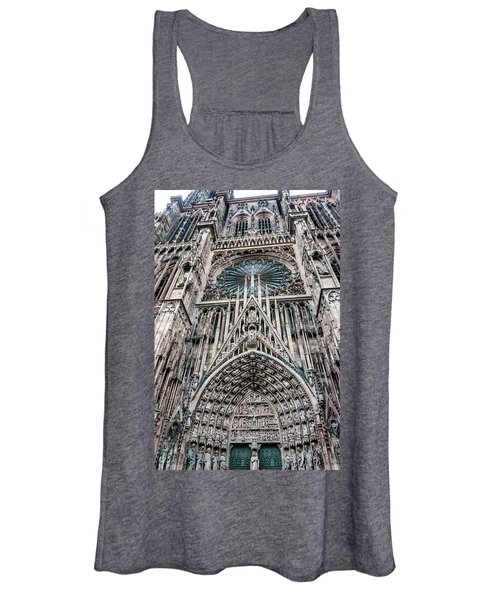 Strasbourg Cathedral Women's Tank Top