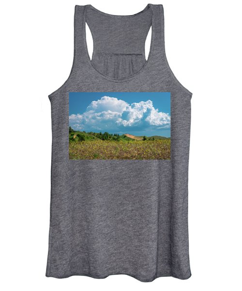Summer Storm Over The Dunes Women's Tank Top