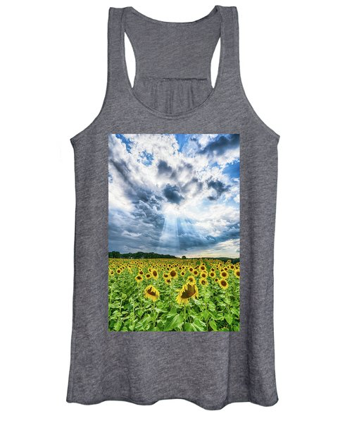 Sunflower Field Women's Tank Top