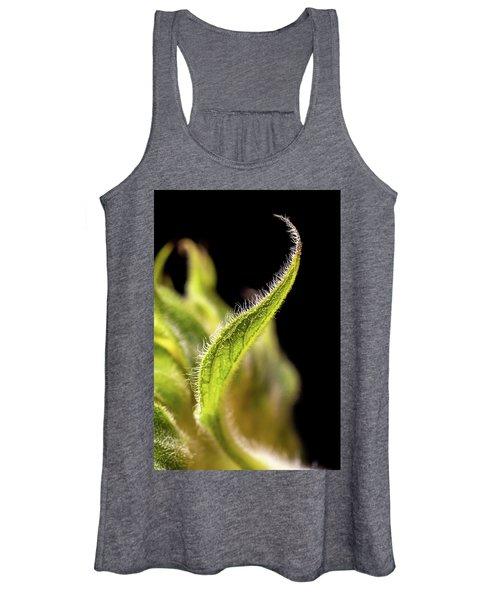 Sunflower Leaf Women's Tank Top