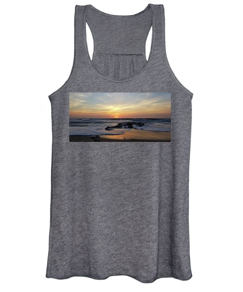 Sunrise At The 15th St Jetty Women's Tank Top