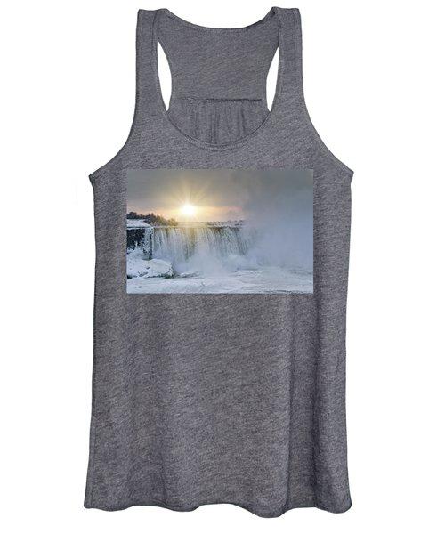Sunrise In Niagara Falls Women's Tank Top