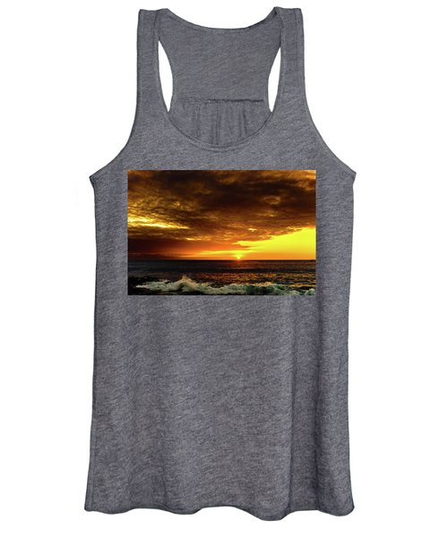 Sunset And Surf Women's Tank Top
