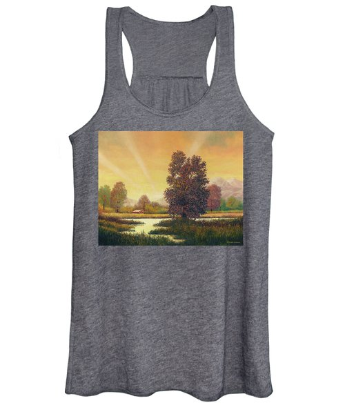 Sunset Color Women's Tank Top