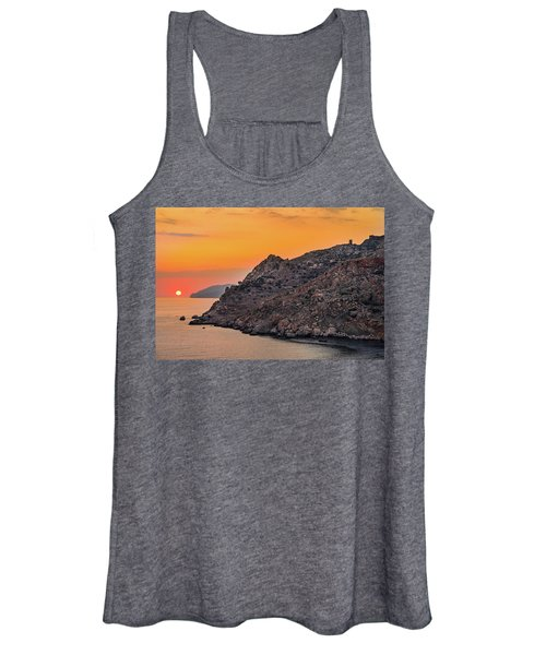 Sunset Near Cape Tainaron Women's Tank Top