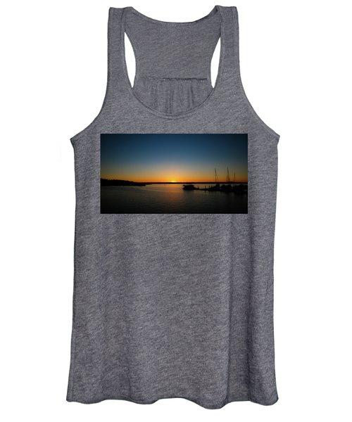Sunset Over The Potomac Women's Tank Top