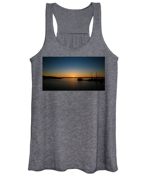 Sunset Over The Potomac Women's Tank Top