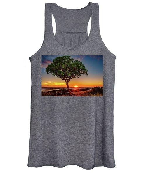 Sunset Tree Women's Tank Top