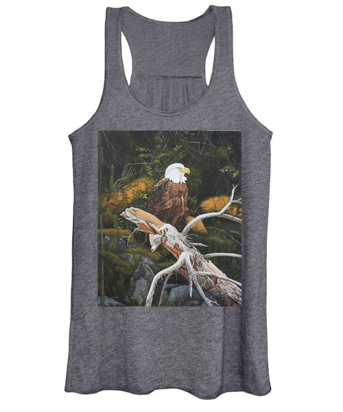 Surveying The Sea Women's Tank Top