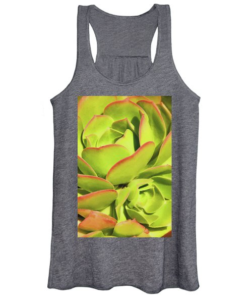 Sweet Succulents I Women's Tank Top