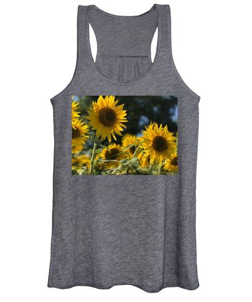 Sweet Sunflowers Women's Tank Top