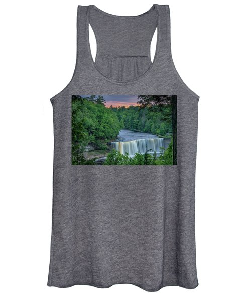 Tahquamenon Falls Sunset. Women's Tank Top