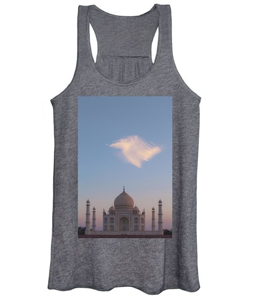 Taj Mahal At Sunset Women's Tank Top