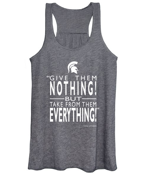 Take From Them Everything Women's Tank Top