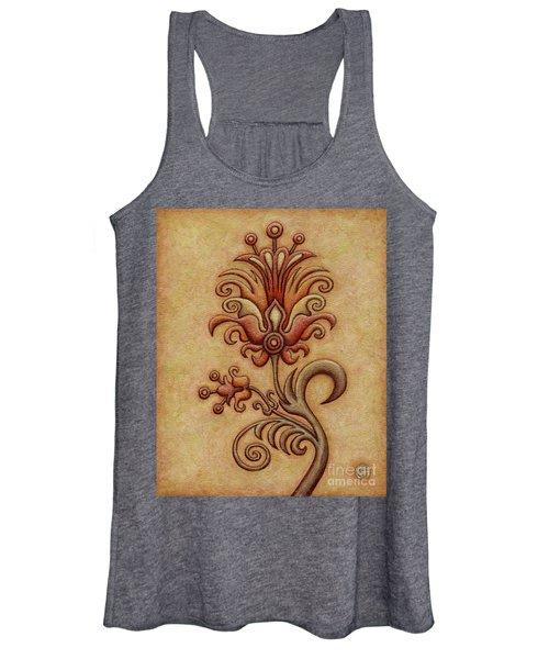 Tapestry Flower 7 Women's Tank Top