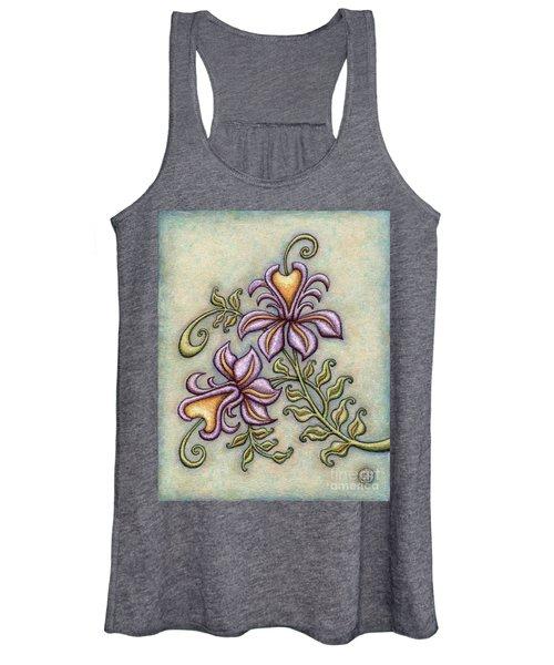 Tapestry Flower 8 Women's Tank Top