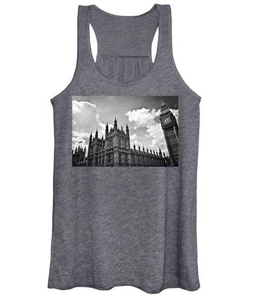 Tea Time With Big Ben At Westminster - Classic Edition Women's Tank Top