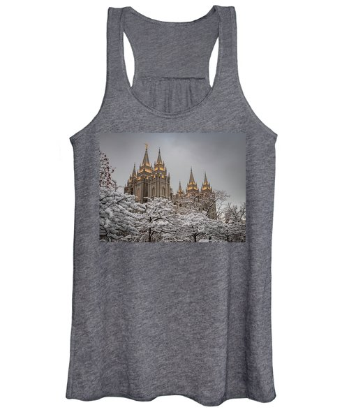 Temple In The Snow Women's Tank Top