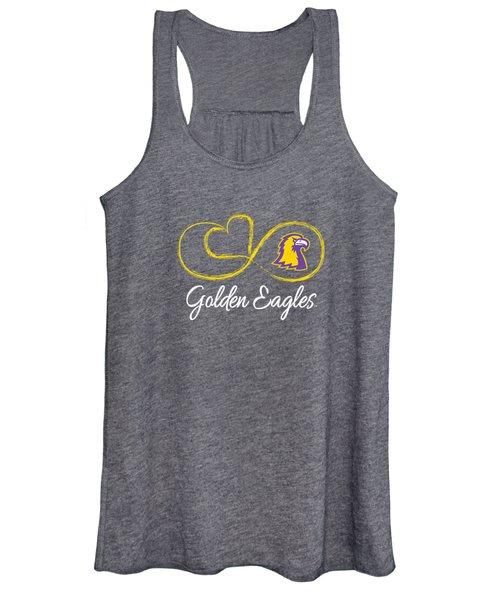 Tennessee Tech Golden Eagles Infinite Heart T-shirt Apparel Women's Tank Top