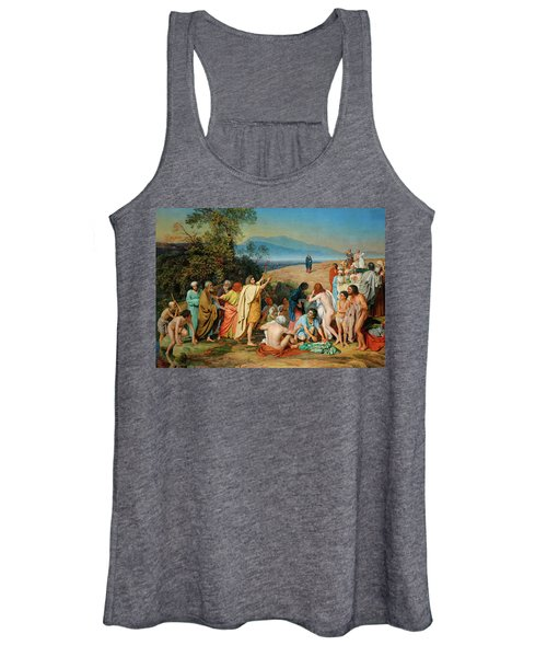 The Appearance Of Christ Before The People Women's Tank Top
