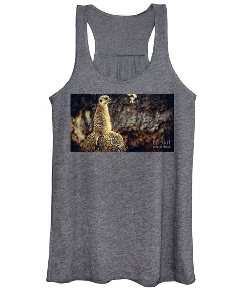 The Cat Who Does Not Meow... Women's Tank Top
