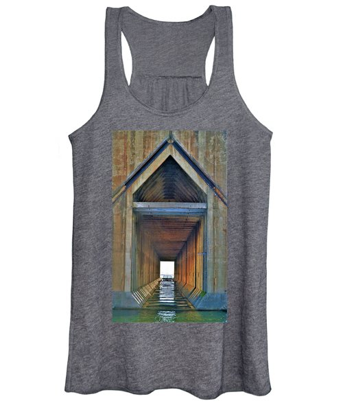 The Cathedral Ore Dock Of Marquette Women's Tank Top