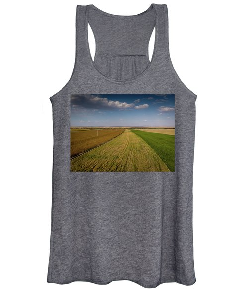 The Colored Fields Women's Tank Top