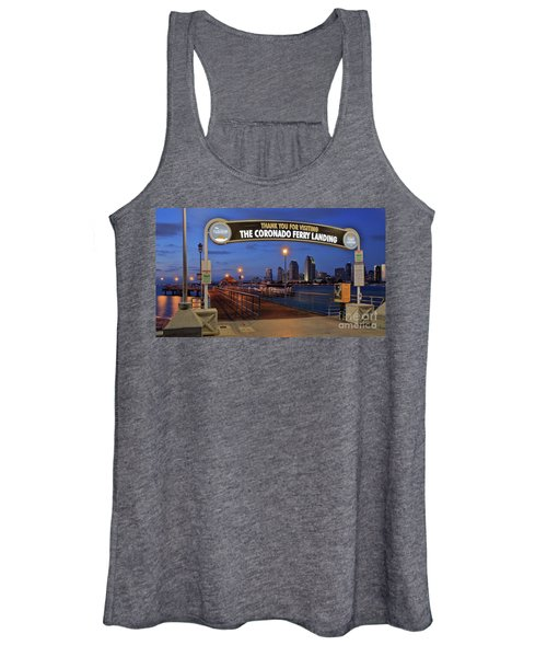 The Coronado Ferry Landing Women's Tank Top