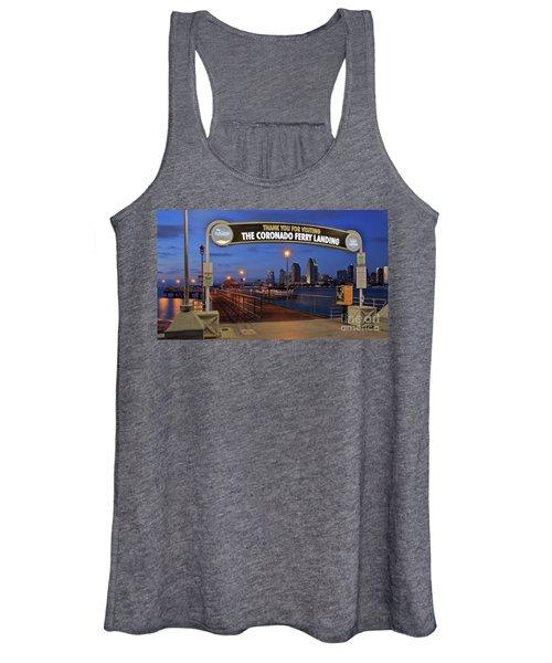 The Coronado Ferry Landing Women's Tank Top