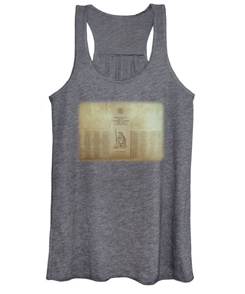 The Dekalb Rifles Memorial Women's Tank Top