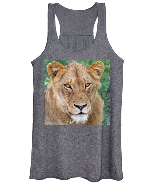 The Face Of Experience Women's Tank Top
