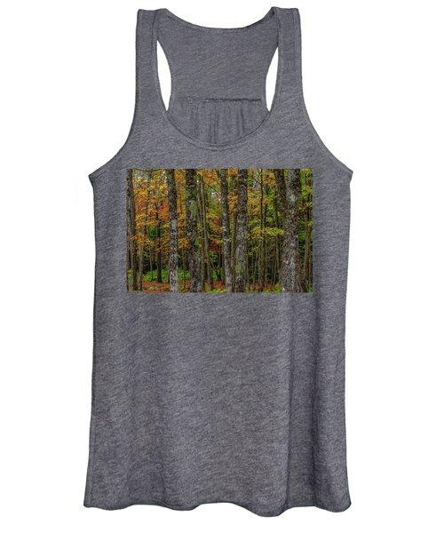 The Fall Woods Women's Tank Top