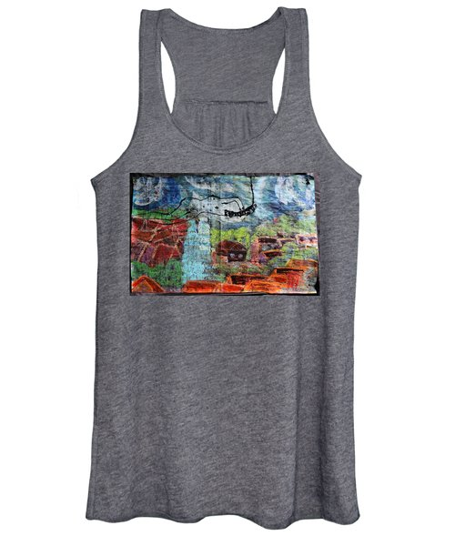 The Hues Brightened Life Seems Good Women's Tank Top